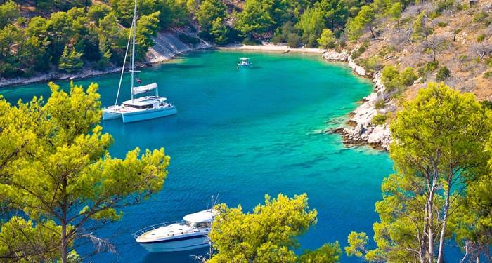 go for a sailing trip when traveling the balkans