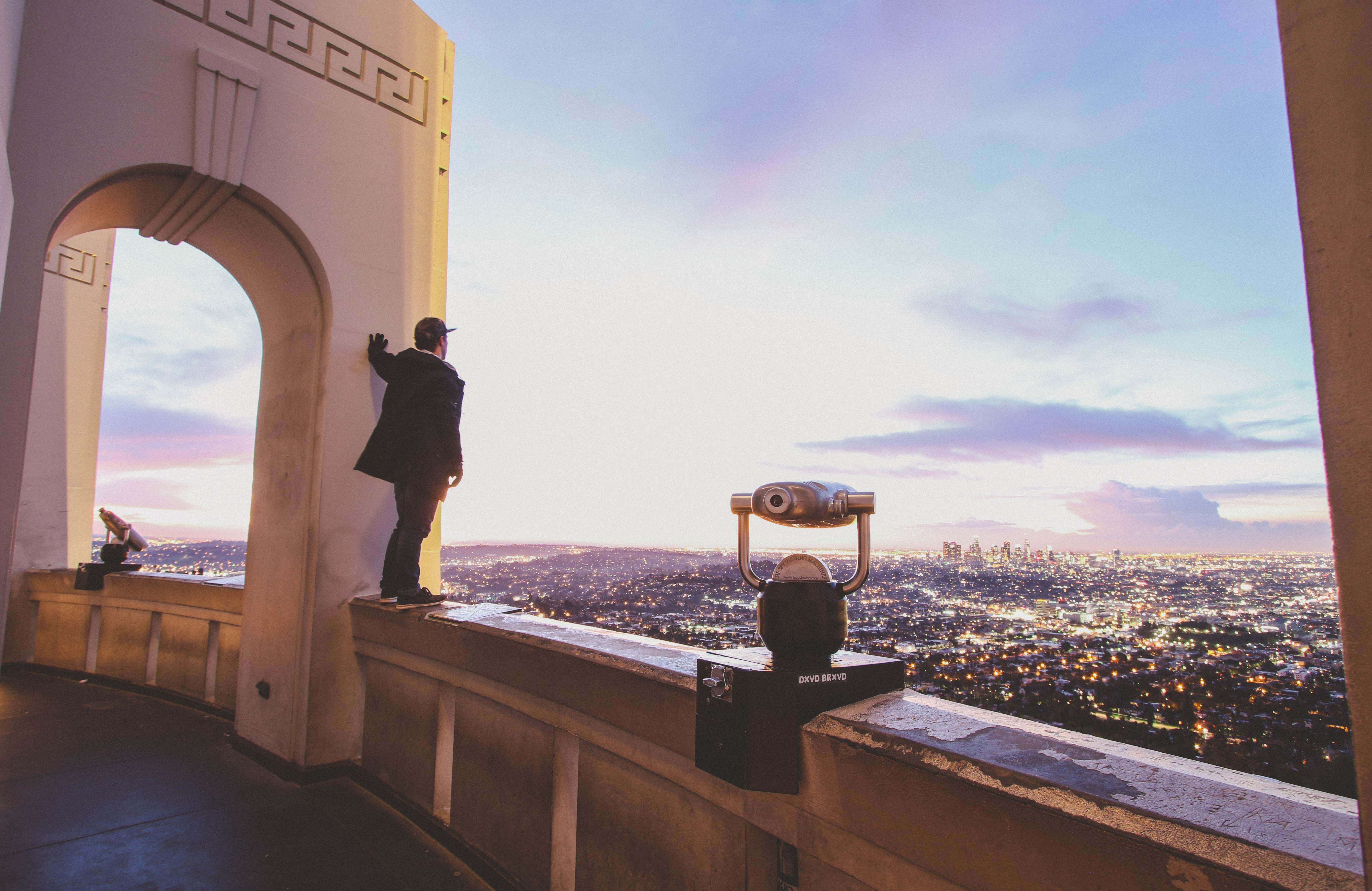 los-angeles-man-at-observatory-sunset-cover