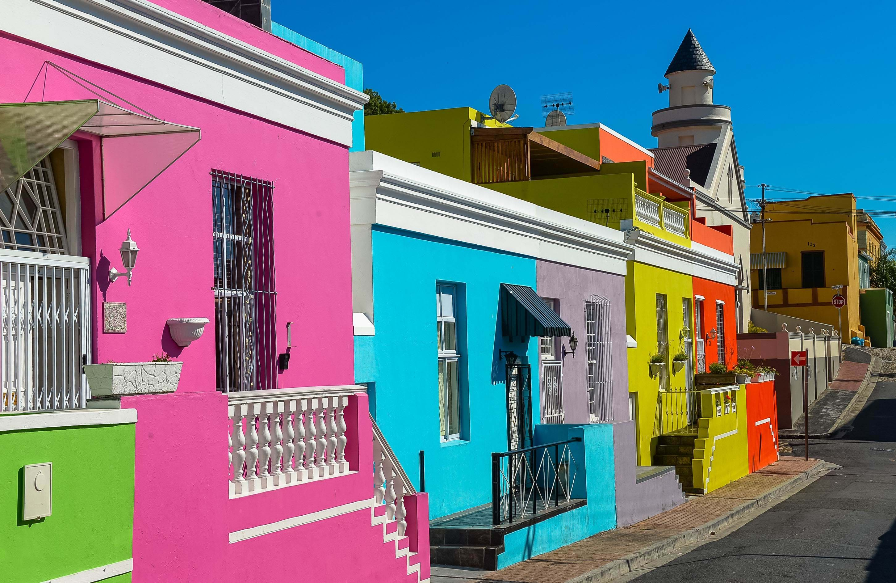 cape town-south africa-colorful houses