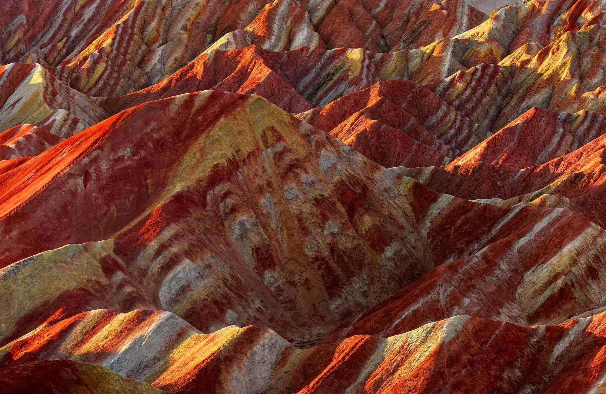 china-gansu-province-zhangye-national-geopark-colorful-rock-formations