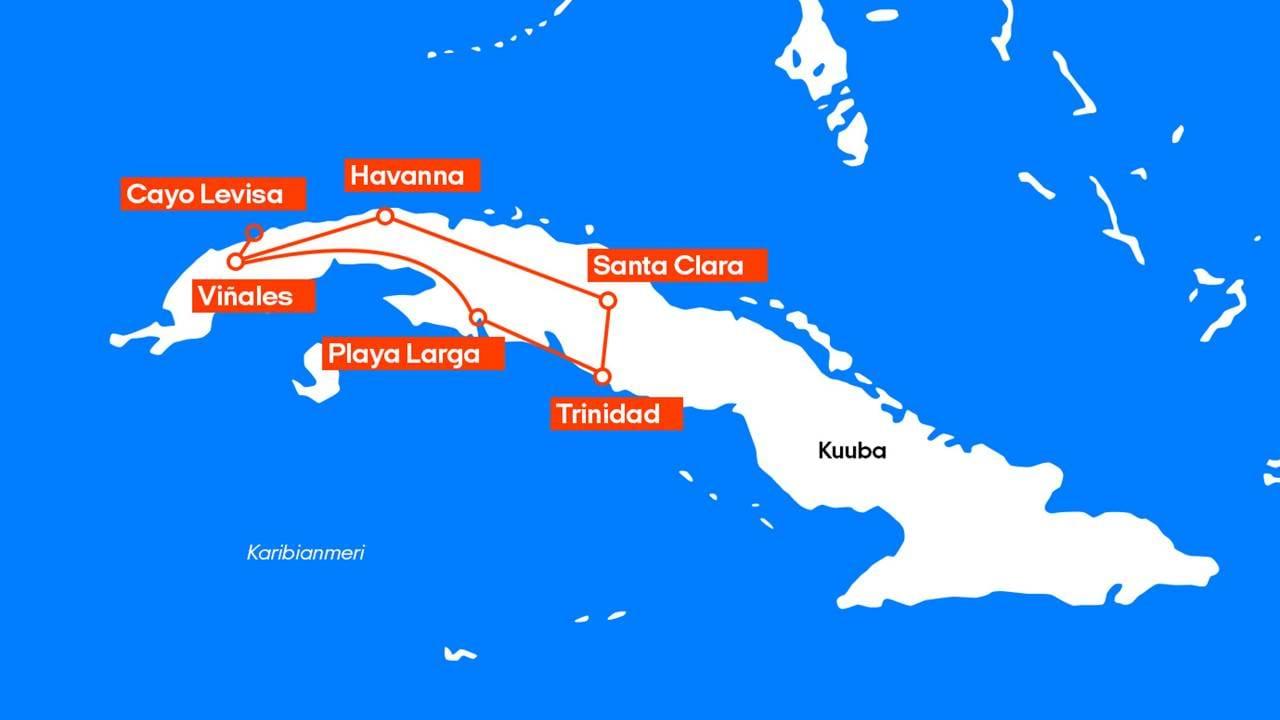 Kuuban Kiertomatka Kilroy