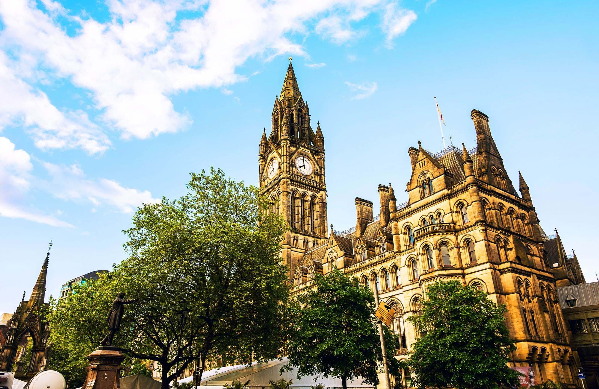 Manchester England Town Hall