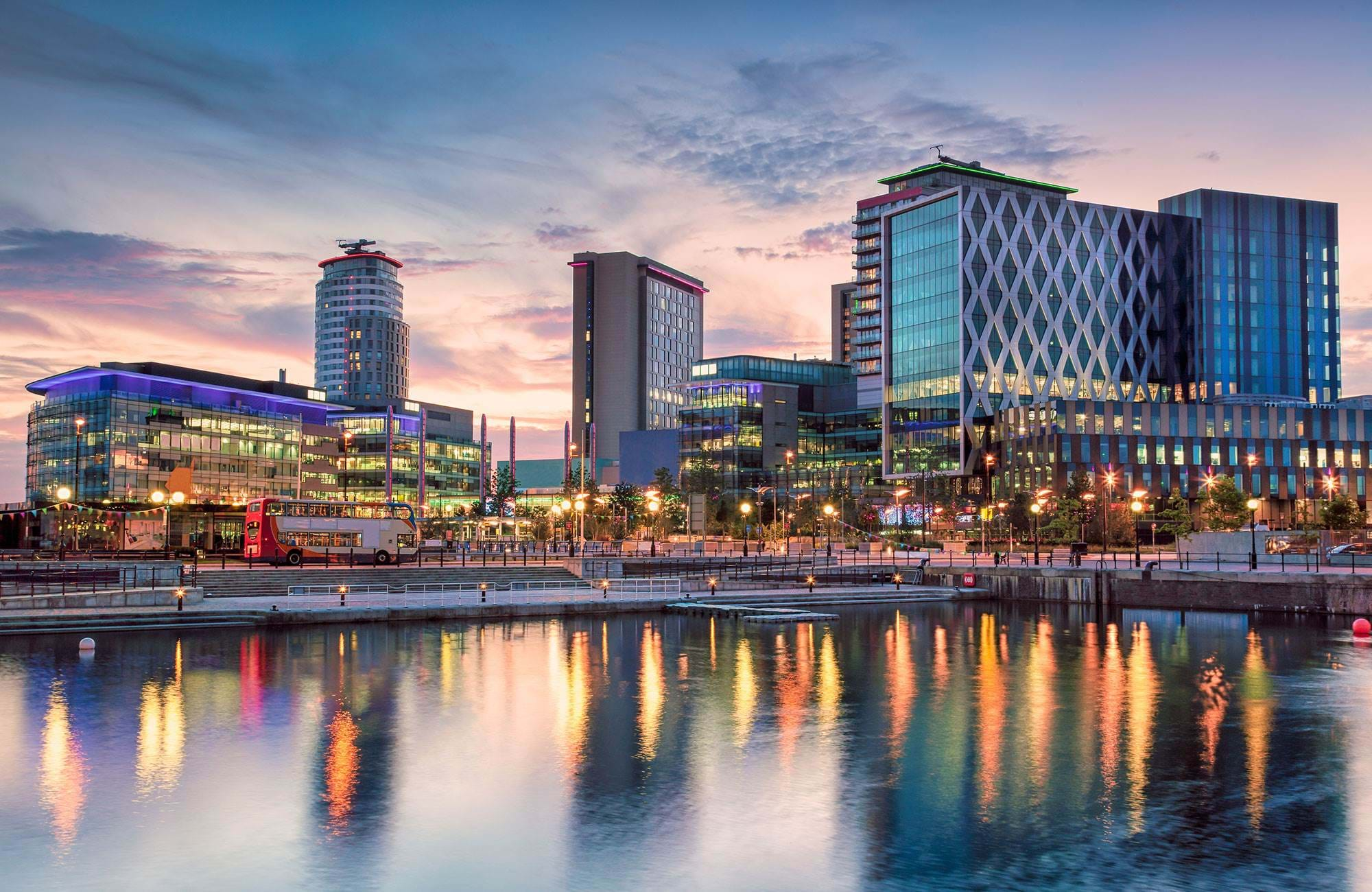 Manchester England Media City Salford Quays